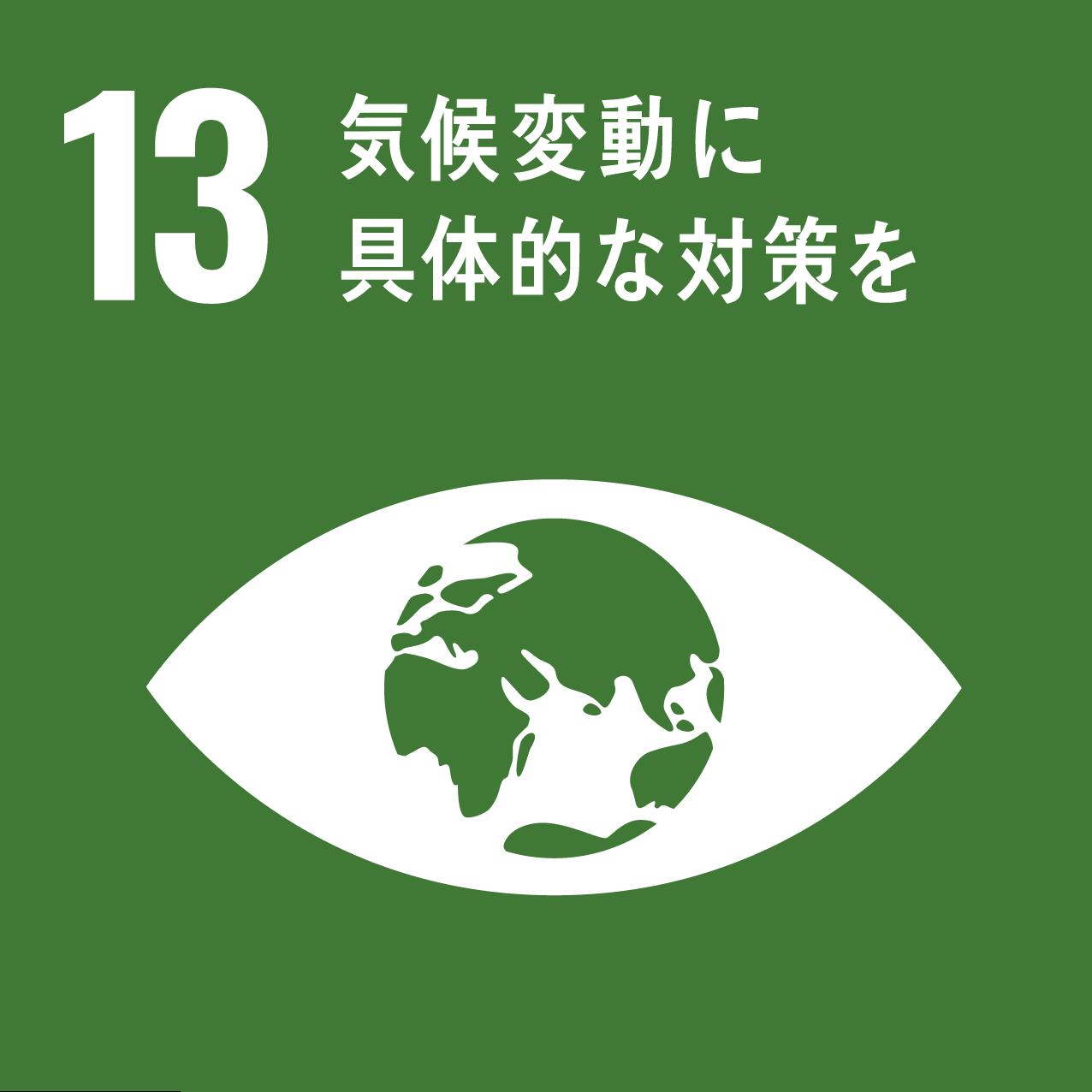 ハンドループのSDGs 13 気候変動に具体的な対策を