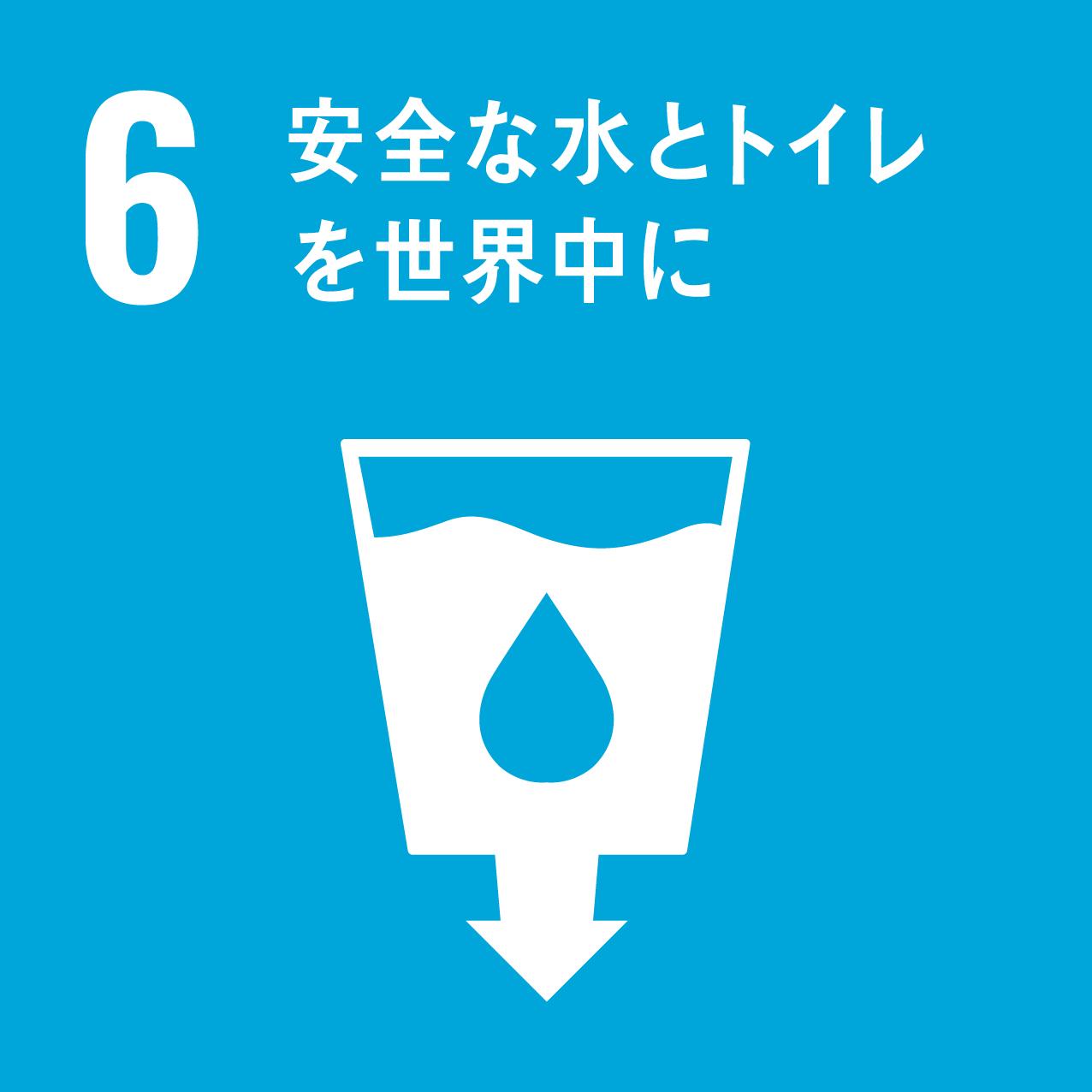 ハンドループのSDGs 6 安全な水とトイレを世界中に