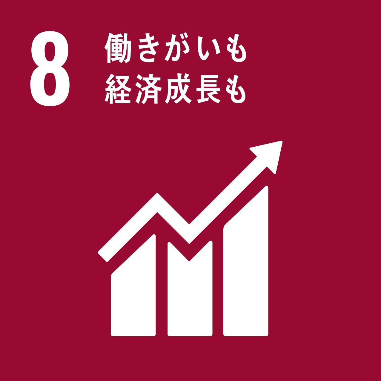 ハンドループのSDGs 8 働きがいも経済成長も